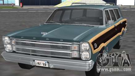 Ford Country Squire 1966 for GTA San Andreas