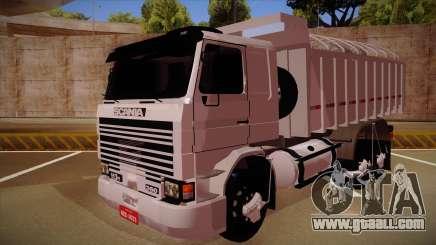Scania 113H Frontal Caçamba BETA for GTA San Andreas