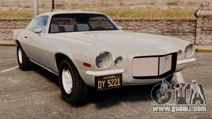 Chevrolet Camaro Z28 1970 for GTA 4