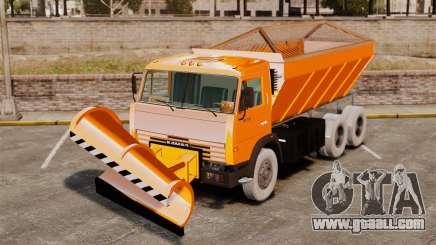 KAMAZ 53215 snow blower for GTA 4
