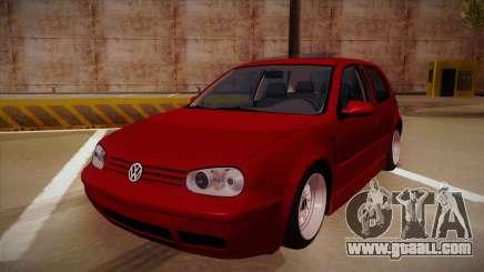 Volkswagen Golf Mk4 Euro for GTA San Andreas