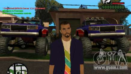 New Andre for GTA San Andreas