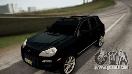 Porsche Cayenne SUV for GTA San Andreas