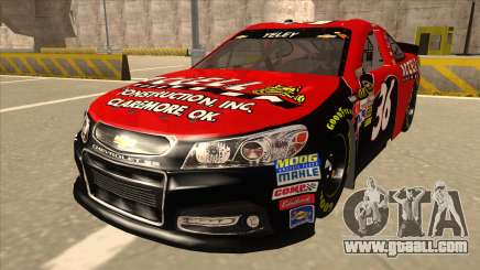 Chevrolet SS NASCAR No. 36 Accell for GTA San Andreas