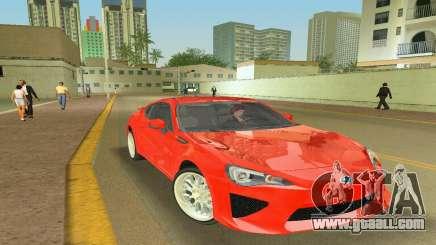 Subaru BRZ Type 2 for GTA Vice City