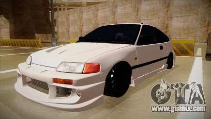 Honda CRX JDM Style for GTA San Andreas