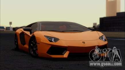 Lamborghini Aventador LP760-2 EU Plate for GTA San Andreas