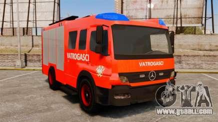 Mercedes-Benz Atego Koprivnica Fire Dept. [ELS] for GTA 4
