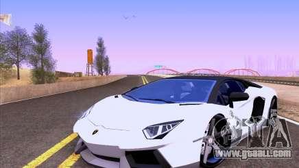 Lamborghini Aventador LP700-4 Vossen 2012 V2.0 F for GTA San Andreas