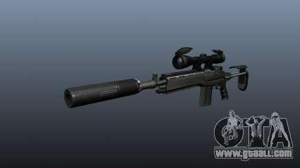 Automatic rifle M14 EBR v1 for GTA 4