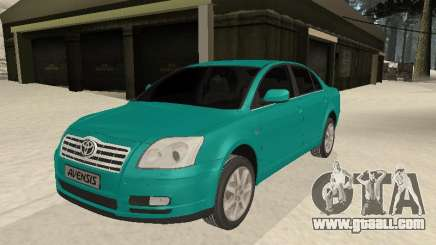 Toyota Avensis 2.0 16v VVT-i D4 Executive for GTA San Andreas