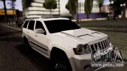 Jeep Grand Cherokee SRT8 for GTA San Andreas