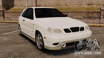 Daewoo Lanos GTI 1999 Concept for GTA 4
