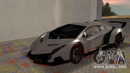 Lamborghini Veneno Advance Edition for GTA San Andreas