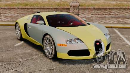 Bugatti Veyron Gold Centenaire 2009 for GTA 4
