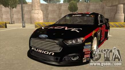 Ford Fusion NASCAR No. 98 K-LOVE for GTA San Andreas