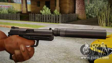 USP45 with silencer for GTA San Andreas