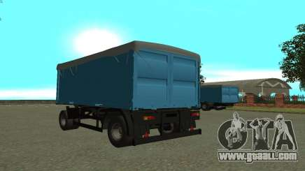 Trailer for KamAZa 5320 for GTA San Andreas