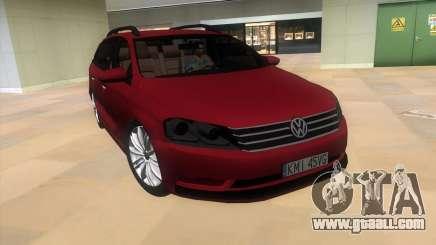 Volkswagen Passat B7 2012 for GTA Vice City
