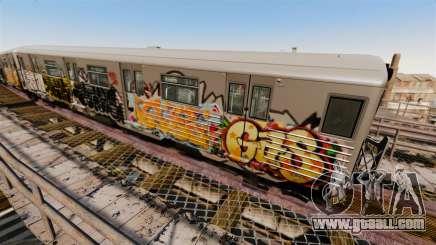 New Subway graffiti for v4 for GTA 4