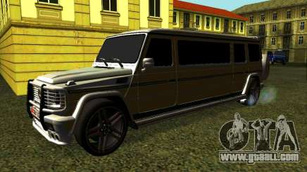 Mercedes-Benz G500 Limo for GTA San Andreas