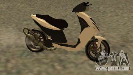 Piaggio NRG for GTA San Andreas