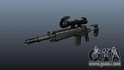 Automatic rifle M14 EBR v2 for GTA 4
