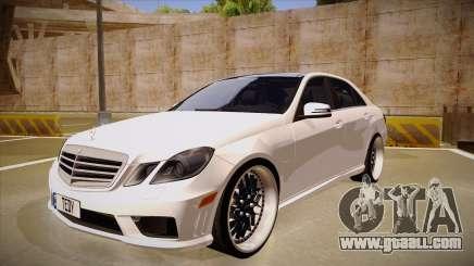 Mercedes-Benz E63 6.3 AMG Tedy for GTA San Andreas