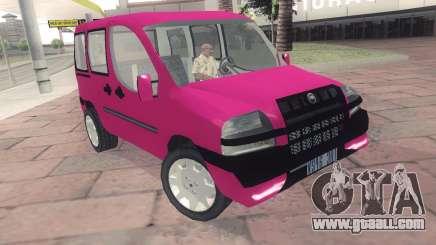 Fiat Doblo for GTA San Andreas