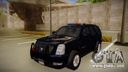 Cadillac Escalade 2011 FBI for GTA San Andreas