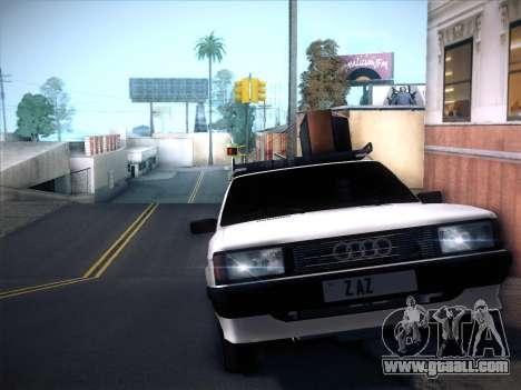 Audi 80 B2 v2.0 for GTA San Andreas back view