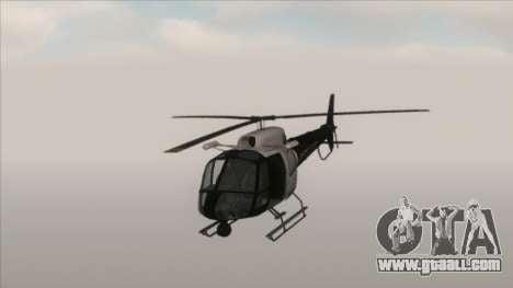 Police Maverick from GTA V for GTA San Andreas