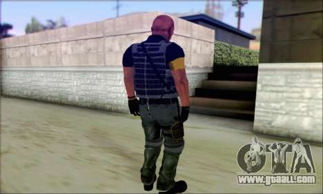 Sam from Far Cry 3 for GTA San Andreas second screenshot
