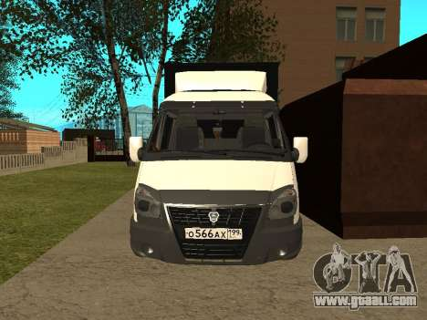 33023 Gazelle Business for GTA San Andreas left view