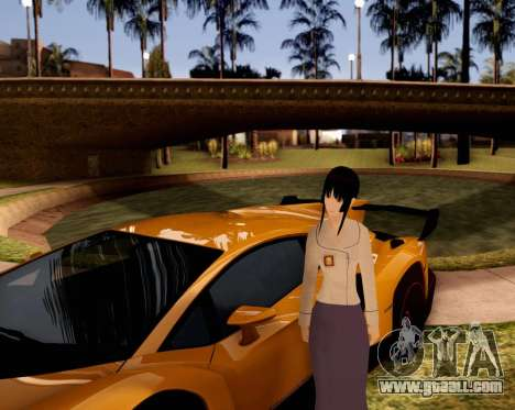 Indo-Japan High School Girl Uniform for GTA San Andreas