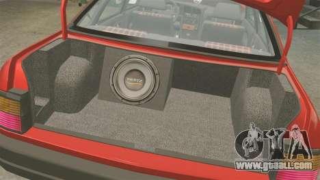 Volkswagen Passat B3 1995 for GTA 4 side view
