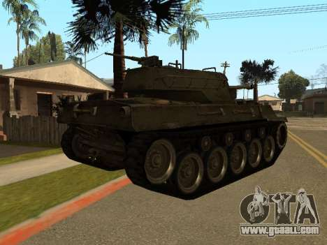 M18-Hellcat for GTA San Andreas right view