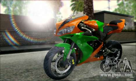 Yamaha R15 for GTA San Andreas left view