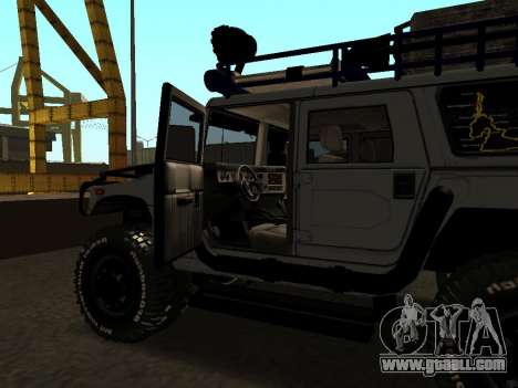 Hummer H1 Offroad for GTA San Andreas side view