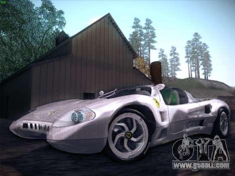 Ferrari P7 Chromo for GTA San Andreas engine