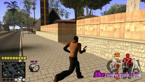 C-HUD Radio for GTA San Andreas third screenshot