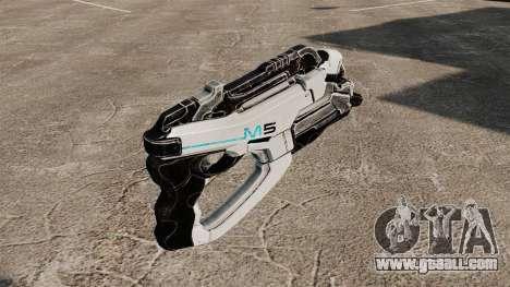 Gun Mass Effect v1 for GTA 4 second screenshot