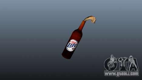 Molotov Cocktail-Miller Lite- for GTA 4