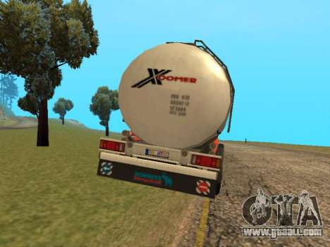 Tank Xoomer for GTA San Andreas back left view