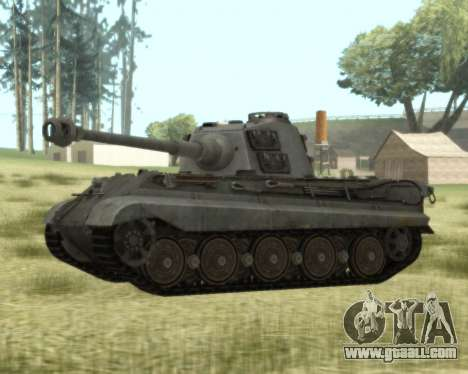 PzKpfw VIB Tiger II for GTA San Andreas
