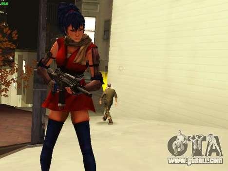 Juliet Starling for GTA San Andreas fifth screenshot