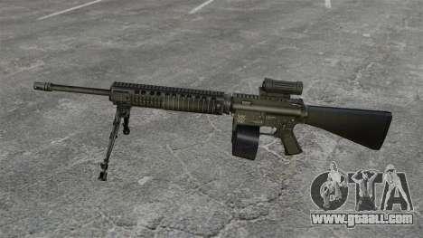 Assault rifle M16A4 C-MAG Scope for GTA 4 third screenshot
