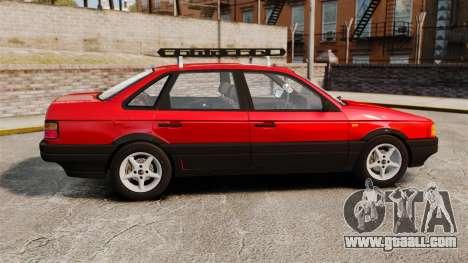 Volkswagen Passat B3 1995 for GTA 4 left view