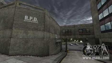 Police station, Raccoon for GTA 4 forth screenshot