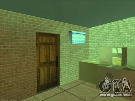 New textures for interior for GTA San Andreas sixth screenshot